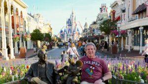 Jim With Roy & Minnie